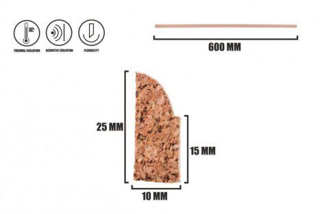 Cork strip LP-2