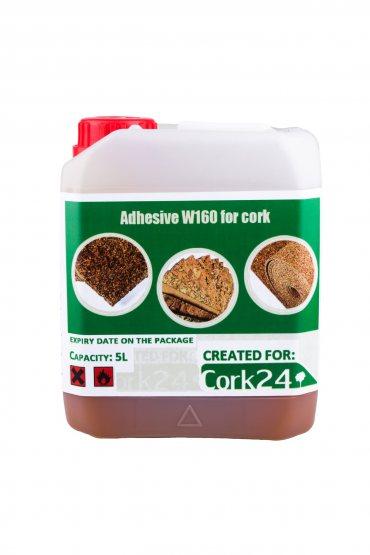 Cork contact adhesive W160 5L