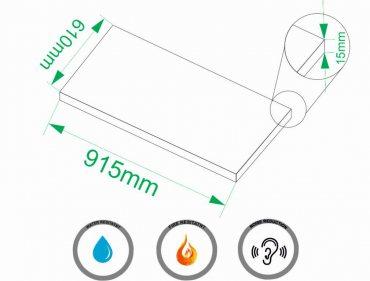 Cork sheet 15mm