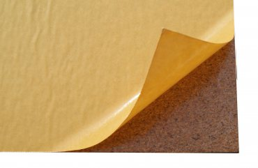 Self-adhesive cork sheet 7mm