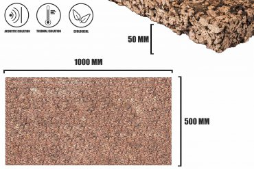 Expanded cork 50mm