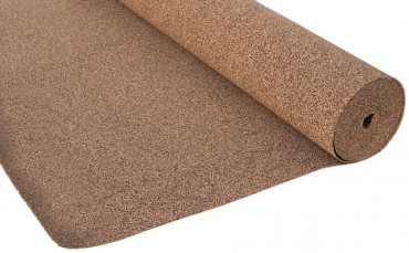Rubbercork underlay 3mm