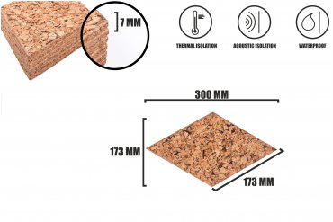 Corkboards Diamond Dekorative