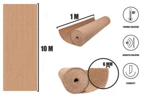 Cork roll 6mm (10m)