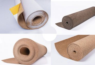 Set of samples selected by you of  Cork Rolls (max. 6 different thickness)