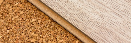 Durable and stable cork flooring