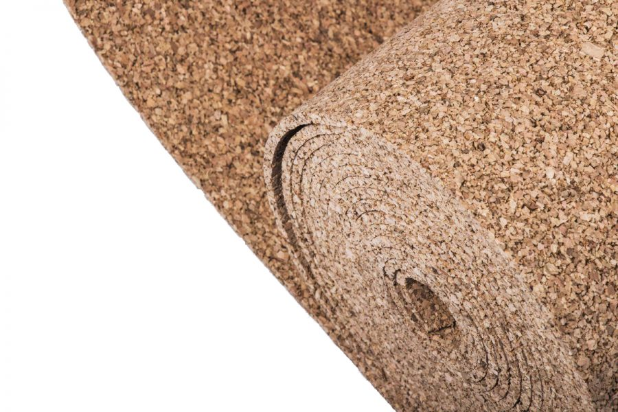 A finishing up and dilatation material – cork strips