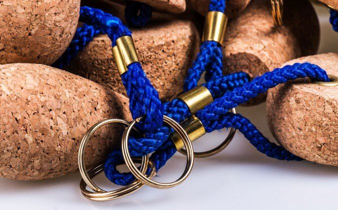 Fashionable and original cork accessories