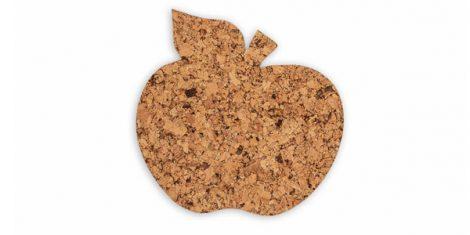 Cork pad Apple decorative-set 4 pcs. 1