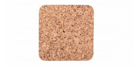 Cork pad Medium square 20cm decor- set
