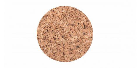 Cork pad Round medium 20cm decor - set of 4 pcs