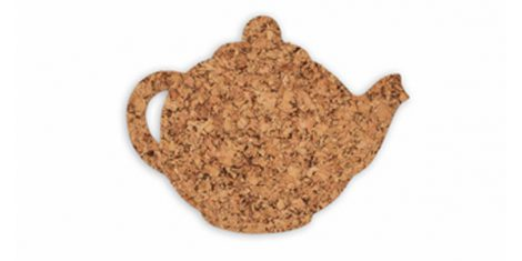 Cork pad medium teapot 24cm decorative -kpl. 4 pcs