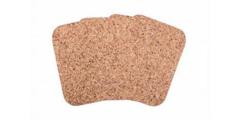 Cork placemat Small rectangle 40 30cm decor-set 4 pcs 1
