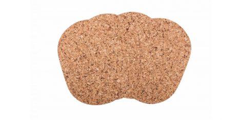 Cork washer oval large 40 30cm decor-set of 4 pcs